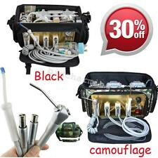 Portable Dental Unit with Air Compressor Suction/drainage System 3 Way Syringe