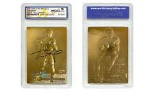 TOM BRADY 2000 Fleer Ultra 23K GOLD ROOKIE Card Refractor Signature Series GM 10