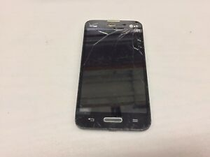 LG OPTIMUS EXCEED 2 LG-VS450BPP BLACK SNARTPHONE (NOT WORKING) (UNKNOWN CARRIER)