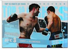 Carlos Condit Jake Ellenberger 2010 Topps UFC Main Event Top 10 Fights Of 2009 7