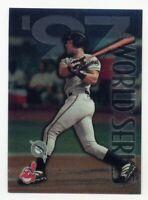 1998 Topps Chrome SANDY ALOMAR Rare WORLD SERIES SUBSET #278 Cleveland Indians