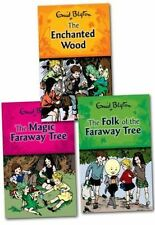Enid Blyton Magic Faraway Tree Series Collection 3 books Set Brand New PB [Paper