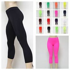 Womens Leggings Tight Pants Sexy Leggings Fitness Yoga Gym Black Pink Green Blue