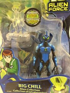 Ben 10 Alien Force Big Chill Bandai 4 inch Figure Brand New Carded