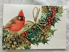 New ListingLovely Marjolein Bastin Christmas Cards Lot of 9 New Hallmark Cardinal Pinecones