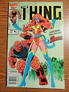 Thing #35 Rare Mark Jewelers Variant Key 1st Power Broker Ms. Marvel Newsstand