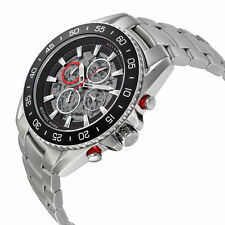 Michael Kors Men's Automatic Chronograph JetMaster S Steel Bracelet Watch MK9011