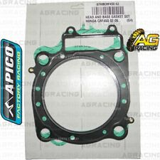 Apico Head & Base Gasket Set For Honda CRF 450R 2002-2008 Motocross Enduro