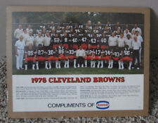 VINTAGE 1978 CLEVELAND BROWNS COLOR TEAM PHOTO SHRINK WRAPPED MAN CAVE