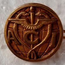 Insigne boutonnière ACI MEDECIN MEDECIN SANTE ORIGINAL France small size pin