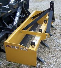 "New Dirt Dog BBX 72"" SD Box Blade  *Can Ship Cheap & Fast*"
