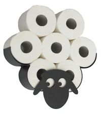 Toilet Roll Holder Sheep Wall Mount Black Metal Toilet Paper Roll Holder Wc