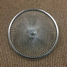 "BICYCLE FAN WHEEL CUSTOM MADE 20"" 144 SPOKES FRONT"