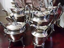 REED & BARTON  EGYPTIAN SHINX 5PIECE SET COFFEE/TEA SET