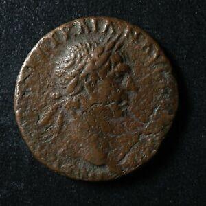 Trajan As 98-102 Victory SPQR Rome