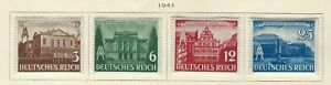 GERMANY - 1941 SPRING FAIR IN VIENNA MINT SET MH