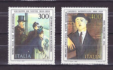 FRANCOBOLLI Italia 1984 Arte Italiana 10° Serie MNH**