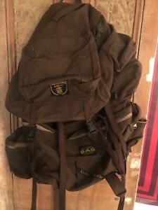 Karrimor Jaguar 8 SAS super Rare Backpack Rucksack  Vintage Brown