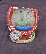 "New listing Philadelphia Phillies Citizens Bank Park Water Globe in Glove.  5"" High"