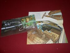 1964 MERCURY COMET 202 404 CALIENTE 24-Page ORIGINAL BROCHURE / 64 SALES CATALOG
