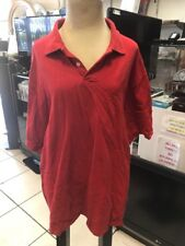CHAMPS SPORTS S/S 100% COTTON RED POLO GOLF SHIRT MEN'S SIZE 2XL