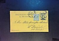 Italy Uprated 15c Postal Card - Z834
