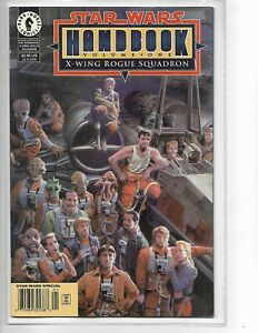 Star Wars Handbook Volume One: X-Wing Rogue Squadron newsstand variant