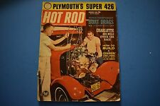 Hot Rod Magazine January 1963 Issue