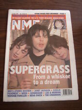 NME 1995 APRIL 15 SUPERGRASS MY BLOODY VALENTINE SHAUN RYDER JANET JACKSON