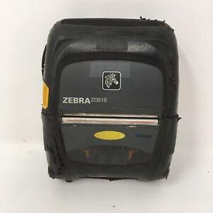 "USED Zebra ZQ510 Direct Thermal Barcode Printer Bluetooth Wireless 3"" NO BATTERY"