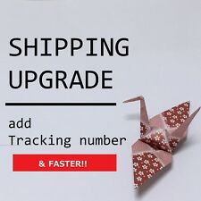JAPAN Shipping Upgrade / ePacket (have a tracking number) for 2 items