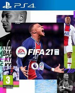 FIFA 21 2021 PS4 PS5 Juego con menús en inglés, y comentarios castellano España