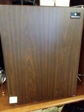 Vtg Compact Refrigerator by Absocold 1.6 Cu Ft Mini Fridge with Freezer