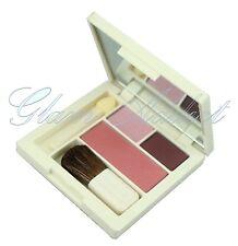 CLINIQUE Eyeshadow & Blusher Blush Eye Shadow Palette Choc Chip, Blossom & Lotus