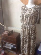 ❤️❤️❤️PER UNA@ M& S Sze 16 (44) Women's ANIMAL PRINT DRESS  BNWT RRP £49.50-XMAS