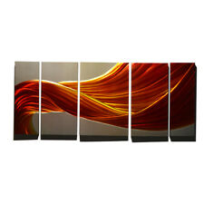 Metal Wall Art Wall Hanging Painting Handcrafted Sculpture Home Decor Abstract