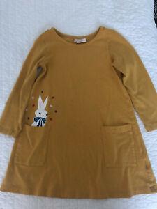 hanna andersson bunny pocket dress 100