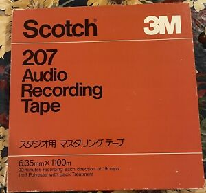 Scotch  207 reel to reel tape 10 inch