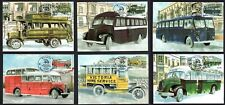 Malta 2013 Max Maximum Cards  Buses The End of an Era Set of 6 Cards No. 42 - 47