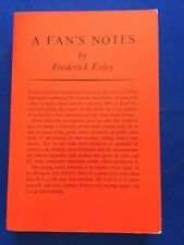 A FAN'S NOTES - ADVANCE READING COPY BY FREDERICK EXLEY