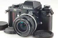 【MINT-】 Nikon F3 Eye Level 35mm SLR Film Camera w/ Ai Nikkor 35mm F/2.8 Lens JPN