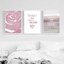 Abstract Flower Art Canvas Poster Nursery Print Nordic Style Bedroom Decoration
