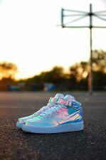 Nike Air Force 1 Mid Iridescent iD Size 13 Lebron KD Kobe Yeezy Lot
