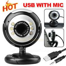 f46b37f9a2c USB Webcam Camera+Mic 16 megapixel MP 6 LED Web Cam For Laptop PC Computer
