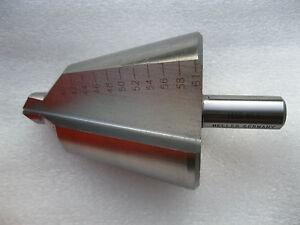 Heller HSS 40 - 61 mm Schälbohrer Aufbohrer Stufenbohrer Kegelbohrer Konusbohrer