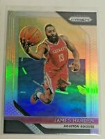 2018-19 Panini Prizm Silver James Harden Houston Rockets #34
