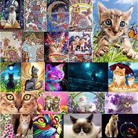 5D DIY Full Drill Diamond Painting Animals Cross Stitch Craft Kit Wall Art #BU