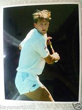 Tenis Foto De Prensa-Stefan Pancho en acción reproductor sueco (Original *)