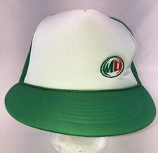 Mountain Dew Hat Green/White Snapback Trucker Mesh Cap