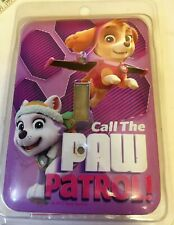 Nickelodeon Call the Paw Patrol Purple Metal Light Switch Wall Plate NEW